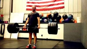 David lifting 320x 3 like a boss