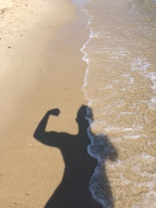 While hanging on the beach today, start thinking about how you can make your silhouette stronger!